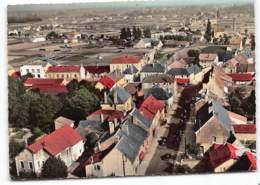 St-MARCEL-les-CHALON Grande Rue. En Avion Au Dessus De... Edit Lapie  Ecrite 1959 - France