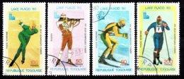 Togo 1980 Mi.nr: 1414-1417 Winterspiele, Lake Placid  Oblitérés / Used / Gestempeld - Winter 1980: Lake Placid