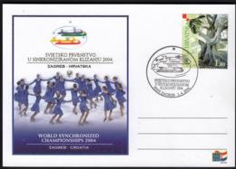 Croatia Zagreb 2004 World Synchronized Championships 2004 Synchronized Skating - Figure Skating
