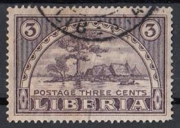 Liberia 1915 Sc. 135 Providence Island - Monrovia Harbor - Used - Liberia