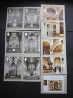 2008 CATHEDRALS STAMPS P.H.Q. CARDS UNUSED, ISSUE No. 311 - 1952-.... (Elizabeth II)