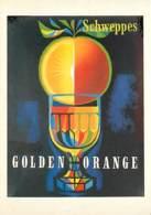 Publicite - 1956 - Schweppes Golden Orange - Collection Les Grands Affichistes Contemporains - Jacques N. Gramond - Cart - Pubblicitari