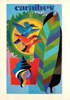 Publicite - 1964 - Caraibes - Collection Les Grands Affichistes Contemporains - Jacques N. Gramond - Carte Neuve - Repro - Pubblicitari