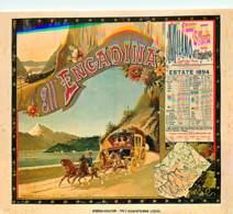 Publicite - Italie - Illustration Kùnstier Unbekannt - Plakat Fur Italienische Pferde-Post, 1894 - Carte Neuve - Reprodu - Publicité
