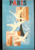 Publicite - Société Nationale Des Chemins De Fer Français - Paris - Illustration P Colin - Carte Neuve - Reproduction D' - Werbepostkarten
