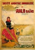 Publicite - Société Anonyme Immobilière De Malo Les Bains - Illustration De Henri Gray - Carte Neuve - Reproduction D'Af - Publicité