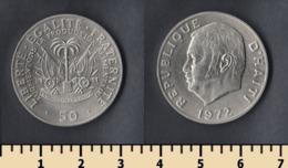 Haiti 50 Centimes 1972 - Haiti