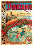 Publicite - Chemins De Fer Du Nord Et De L'Est - Dunkerque - Malo Les Bains - Illustration V. Geoffrois - Carte Neuve - - Publicité
