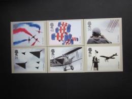 2008 AIR DISPLAYS STAMPS P.H.Q. CARDS UNUSED, ISSUE No. 313 - 1952-.... (Elizabeth II)