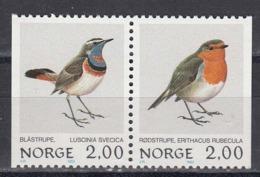 Norway 1982 - Birds, Mi-Nr. 860/61, MNH** - Norwegen