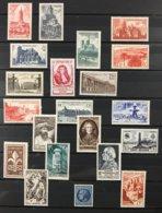 Timbre France Année Complète 1947 YT 772 à 792 - 21 Valeurs Neufs (*) MH (côte 21 Euros) – Lot17 - Francia
