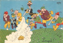 Chasse Humour Illustrateur Dubout 21 - Chasse