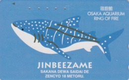 TC Japon / 110-011 - Série OSAKA RING OF FIRE - ANIMAL - POISSON - FISH Japan Phonecard - 14 - Peces