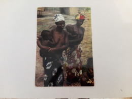 [SENEGAL] - 1980 - Young Mother - Senegal