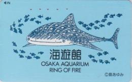 TC Japon / 110-011 - Série OSAKA RING OF FIRE - ANIMAL - POISSON - FISH Japan Phonecard - 15 - Peces