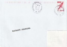 13096  RAITAHITI - KAUKURA - TUAMOTU - POLYNÉSIE FRANÇAISE - Lettres & Documents