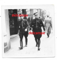 Orginele Photo RIJKSWACHT Gendarmerie Politie Police Op Patrouille - Police