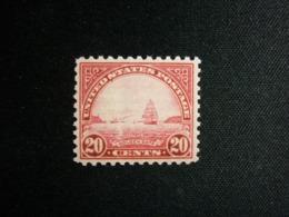 USA, 1922-25 Golden Gate Scott # 567 MNH Cv. 37,50$ - Etats-Unis