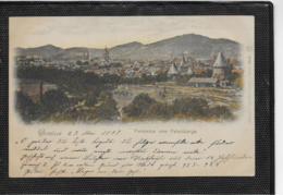 AK 0335  Goslar Vom Petersberge Aus / Lithographie Um 1898 - Goslar
