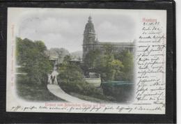 AK 0335  Hamburg - Eingang Zum Botanischen Garten Und Post Um 1899 - Mitte
