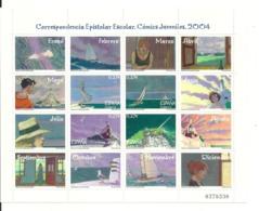 España 2004 ** MNH COMICS JUVENILES - 2001-10 Nuevos & Fijasellos