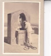 MALLORCA PALMA DE MAJORQUE  SAN SALVADOR Un Puits Septembre 1930 Photo Amateur Environ 7,5 Cm X 5, 5 Cm - Places