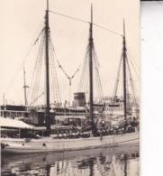 MALLORCA PALMA DE MAJORQUE  Bateaux Port Septembre 1930 Photo Amateur Environ 7,5 Cm X 5, 5 Cm - Bateaux
