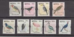 2013 Kenya Bird Definitive Reprints Complete Set Of 9 MNH - No Longer On Sale - Kenia (1963-...)