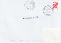 13101  HITIANAU - KATIU  - TUAMOTU - POLYNÉSIE FRANÇAISE - LINÉAIRE - Lettres & Documents