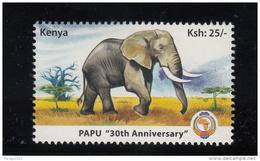 2010 Kenya PAPU Elephant Complete Set Of 1 MNH - Kenya (1963-...)