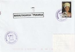 13102  MARAUTAGAROA - PUKARUA  - TUAMOTU - POLYNÉSIE FRANÇAISE - LINÉAIRE - Lettres & Documents