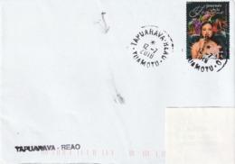 13103  TAPUARAVA - REAO  - TUAMOTU - POLYNÉSIE FRANÇAISE - LINÉAIRE - Lettres & Documents