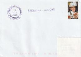 13104  FAKAHINA - TARIONE  - TUAMOTU - POLYNÉSIE FRANÇAISE - LINÉAIRE - Lettres & Documents
