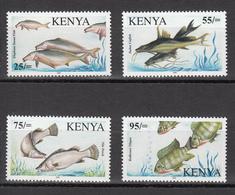 2006 Kenya RARE Fish Of Lake Victoria RARE!! Complete Set Of 4 Stamps  MNH   Cat 300 Euros In Michel - Kenia (1963-...)