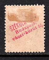 Scarce Advertisement Overprint On Back. Stamp Is Very Fiine (132) - Gebraucht