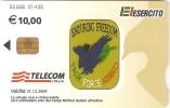 *ITALIA: BASI MILITARI - Cod. 00088 (numeri Piccoli)* - Scheda A CHIP Usata - Italia