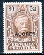 !■■■■■ds■■ Azores 1925 AF#233* Camilo 80 Centavos (x4837) - Azores