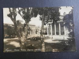 20003) CHIAVARI PIAZZA NOSTRA SIGNORA DELL'ORTO VIAGGIATA 1943 - Genova (Genoa)