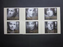 2008 WOMEN OF DISTINCTION STAMPS P.H.Q. CARDS UNUSED, ISSUE No. 315 - 1952-.... (Elizabeth II)