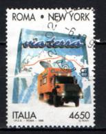 ITALIA - 1996 - TRAVERSATA TRANSICONTINENTALE VIA TERRA DALL'ITALIA AGLI STATI UNITI - USATO - 6. 1946-.. Republik