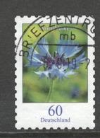 Duitsland, Mi 3481 Jaar 2019, Bloemen, Zelfklevend,,  Gestempeld - [7] République Fédérale