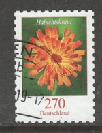 Duitsland, Mi 3490 Jaar 2019,  Bloemen, Zelfklevend, Hoge Waarde,  Prachtig Gestempeld - [7] République Fédérale
