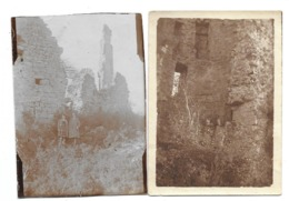 Ruines De Fagnolle (Philippeville) Photos 9x6 - Personnes Anonymes