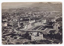 1947 ALBANIA, TIRANA TO BELGRADE, YUGOSLAVIA, AIR MAIL, ILLUSTRATED POSTCARD, USED - Albanie