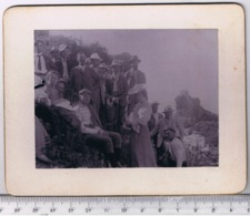 Italy 13.5/10.5 Cm Old Photography - Identification On The Back Side Capri - Ancianas (antes De 1900)