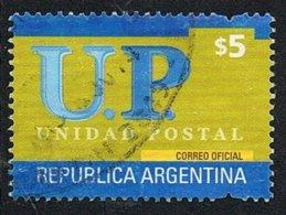 2002 - ARGENTINA - UNIONE POSTALE / POSTAL UNION - USATO / USED - Argentina