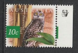 AUSTRALIA 1996 Australian Fauna & Flora/Powerful Owl 10c: Single Stamp UM/MNH - Mint Stamps