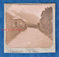 Photo Ancienne - CHAMONIX - L' Hôtel Pension De La Poste & L' Arve - Vers 1900 - Haute Savoie Mont Blanc - Photos