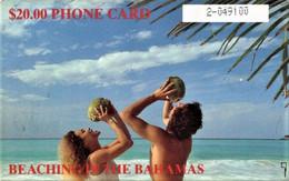 *BAHAMAS* - Scheda A Chip Usata - Bahama's