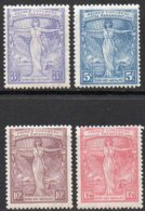 ARGENTINA 1921 - First Panamerican Postal Congress. Locomotive. Set, Mint NH - Treni